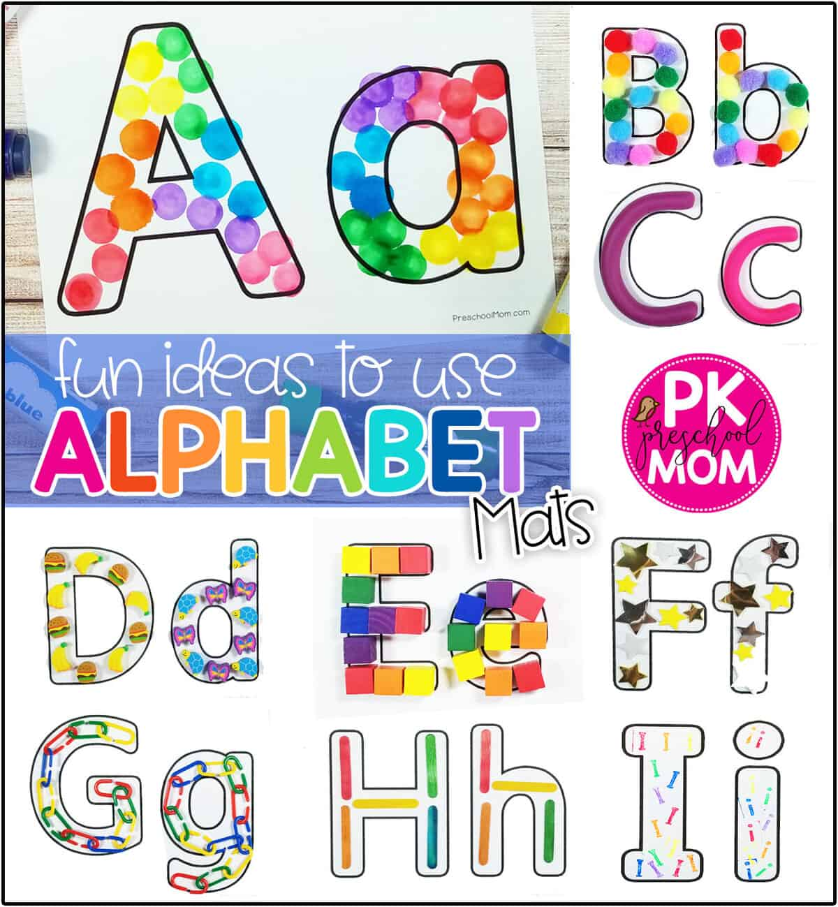 Alphabet Mat Printables