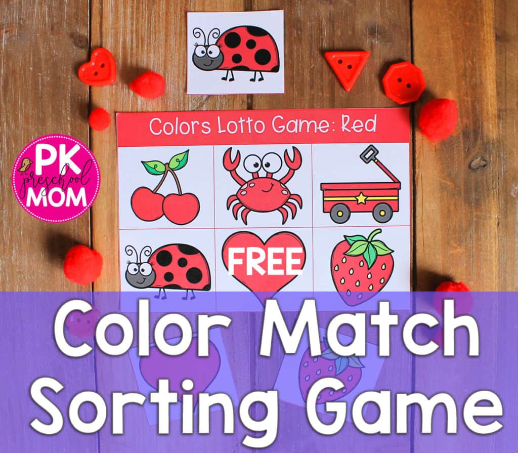 Color Games For Kids To Learn Free Bingo Game