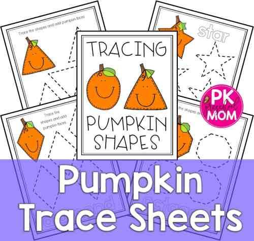 small resolution of pumpkin tracing worksheets