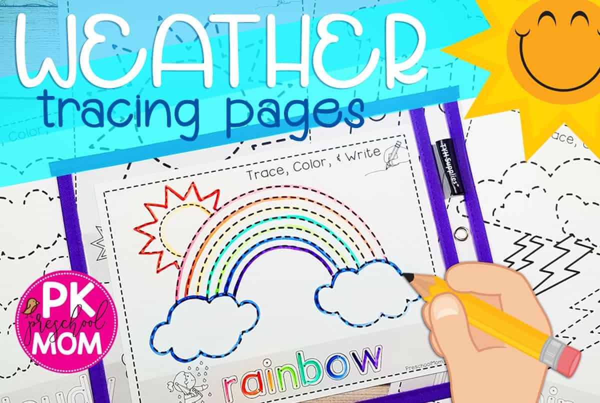 Weather Preschool Printables