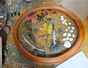 Loose Parts in Frame at Preschool of the Arts