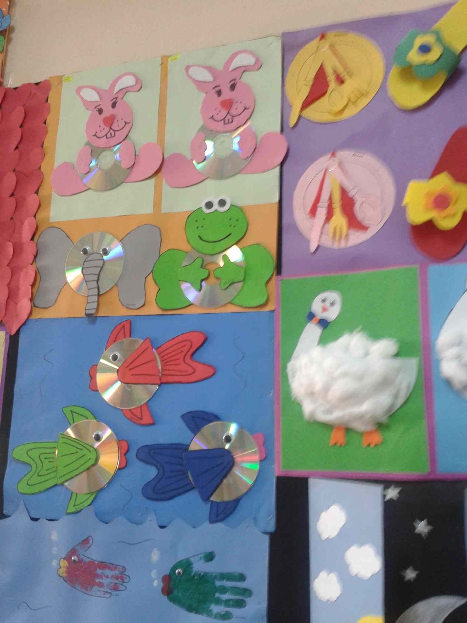Cd Animals Craft Idea Preschoolplanet