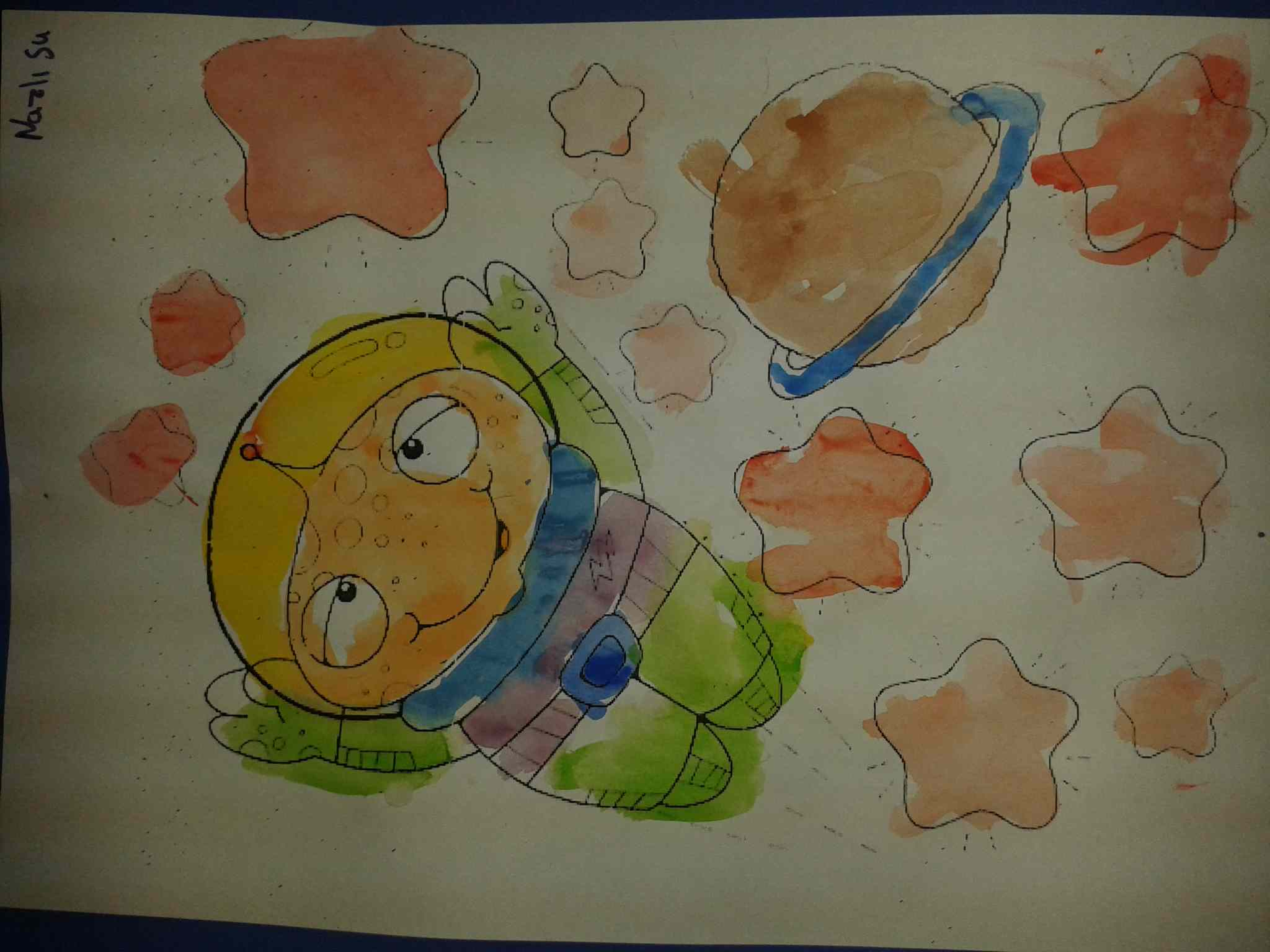 Astronaut Craft Idea Preschoolplanet
