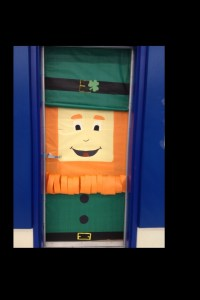 St. Patrick's Day door decoration ideas