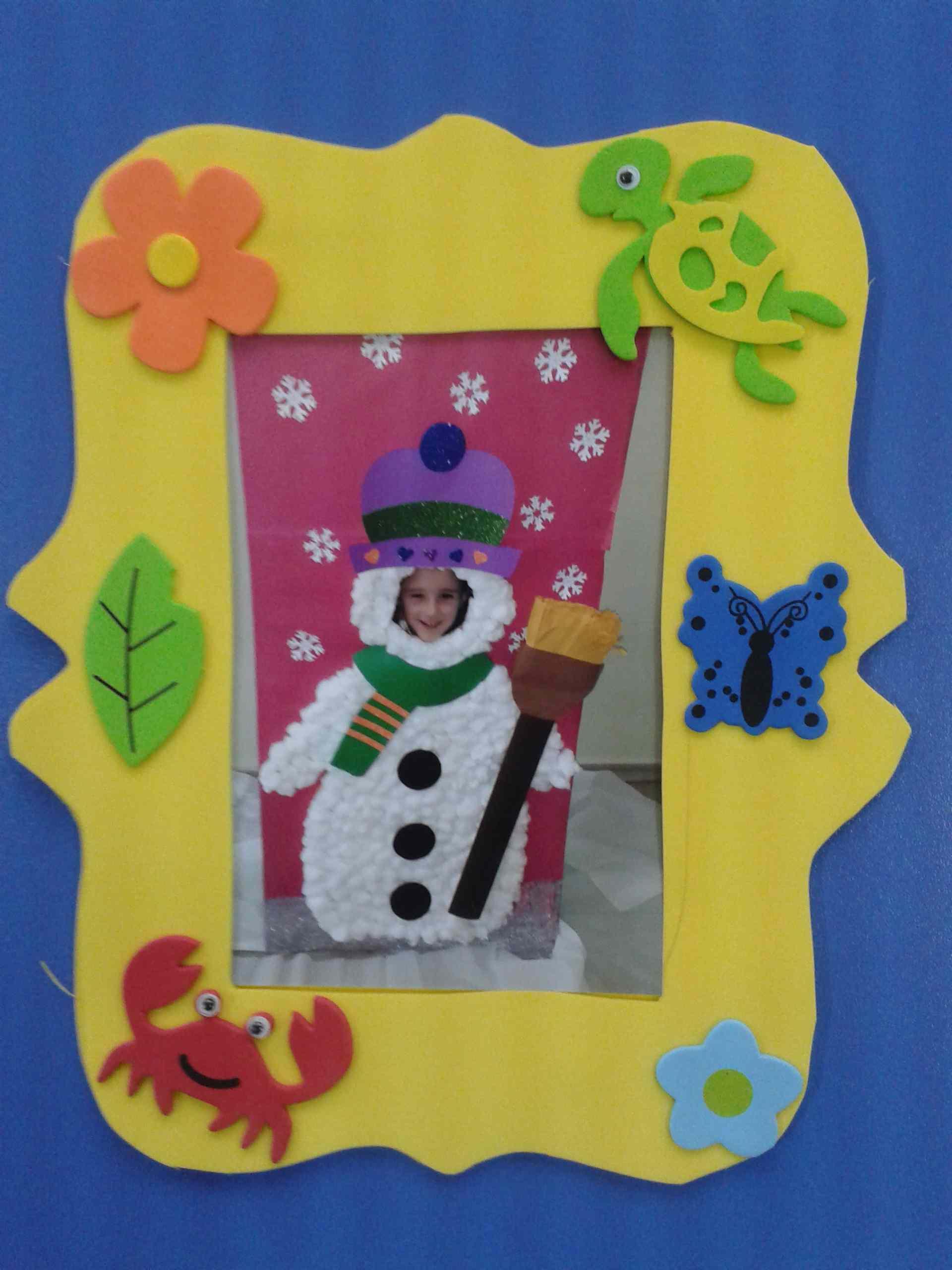 Frame Craft Idea For Kids Preschoolplanet