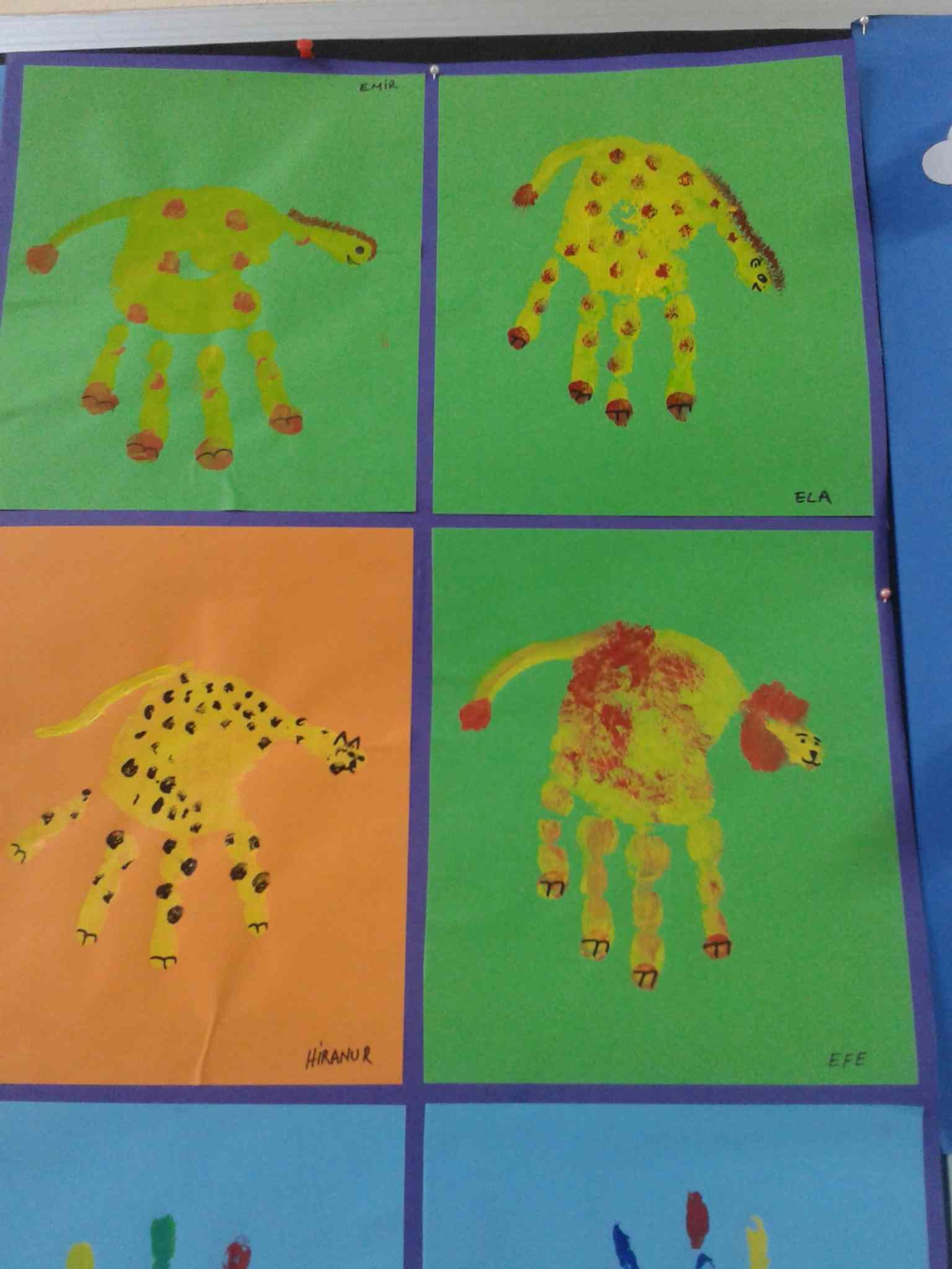 Handprint Lion Craft Idea Preschoolplanet