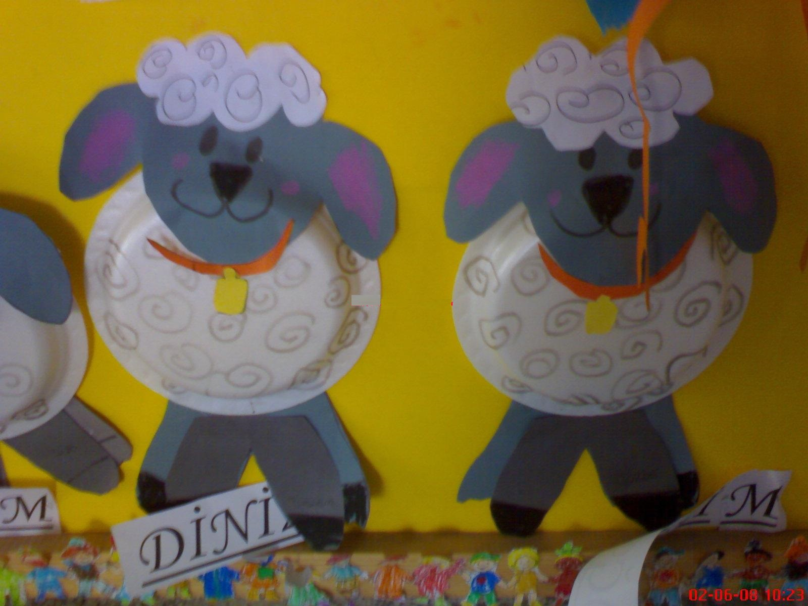Paper Plate Sheep Craft Preschoolplanet