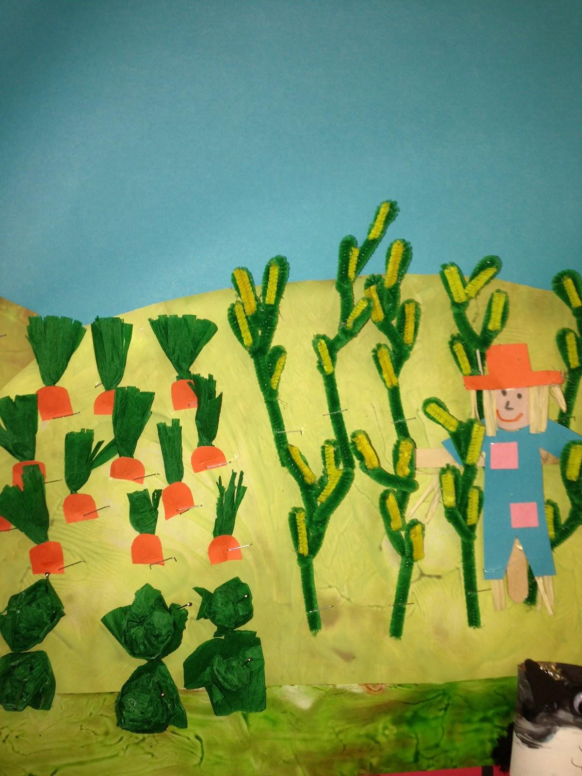 Plants Bulletin Board Preschoolplanet
