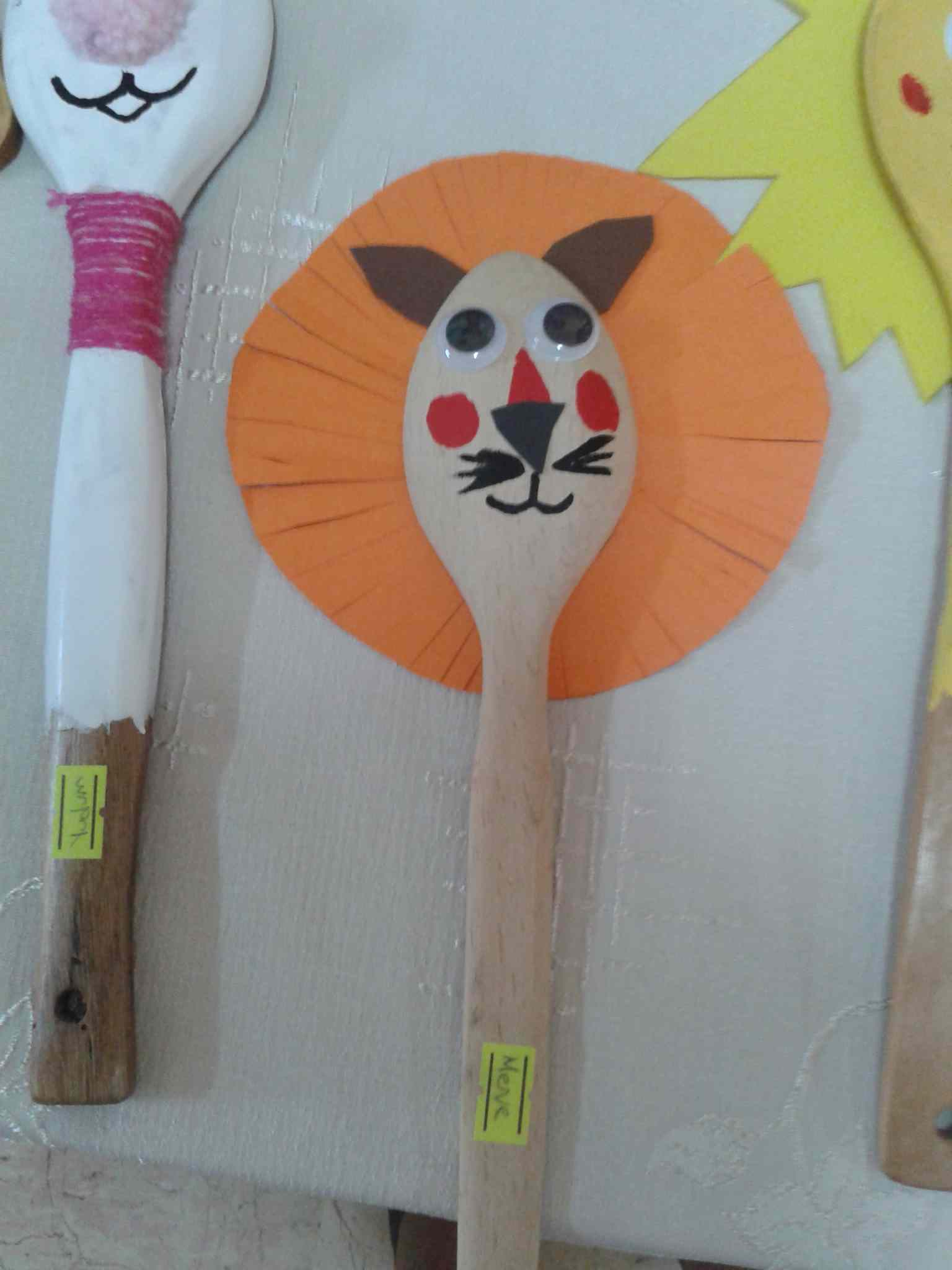 Lion Craft Idea For Kids Preschoolplanet