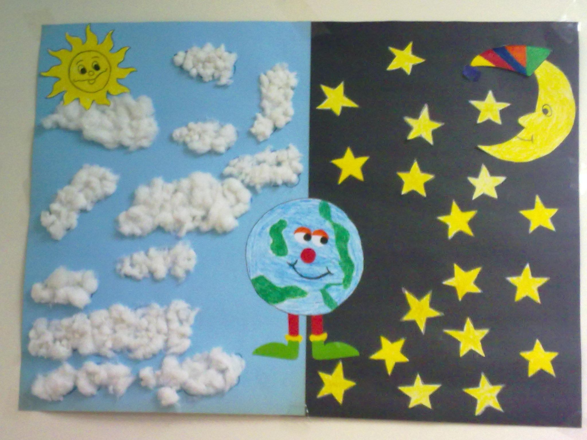 Day And Night Craft Preschoolplanet