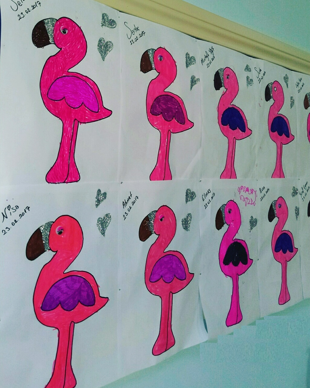 Flamingo Craft Idea For Kids Preschoolplanet