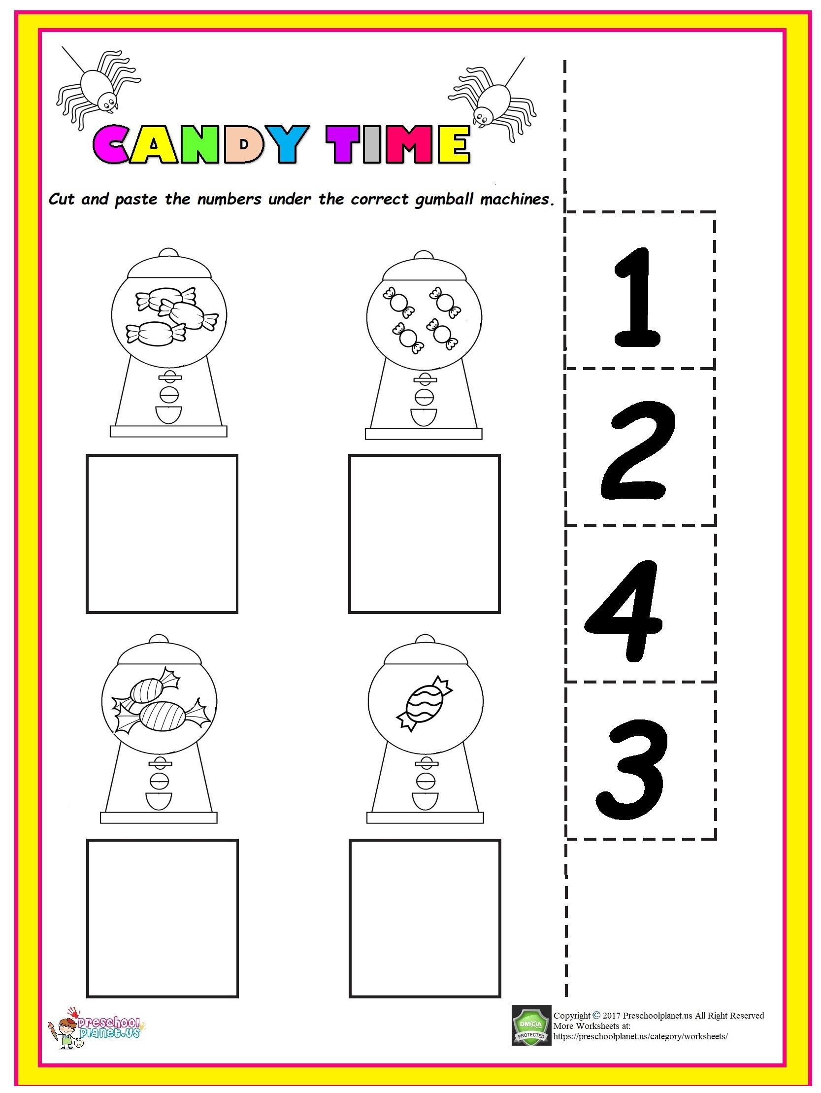 Number 3 Worksheet For Kindergarten Preschoolplanet