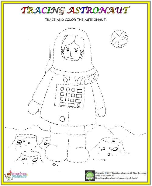 small resolution of Letters A Astronauts Worksheet   Printable Worksheets and Activities for  Teachers