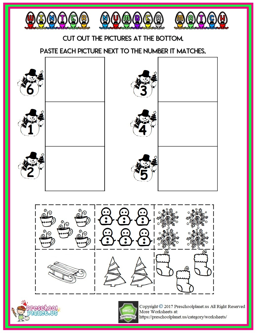 Christmas Tree Life Cycle Worksheet