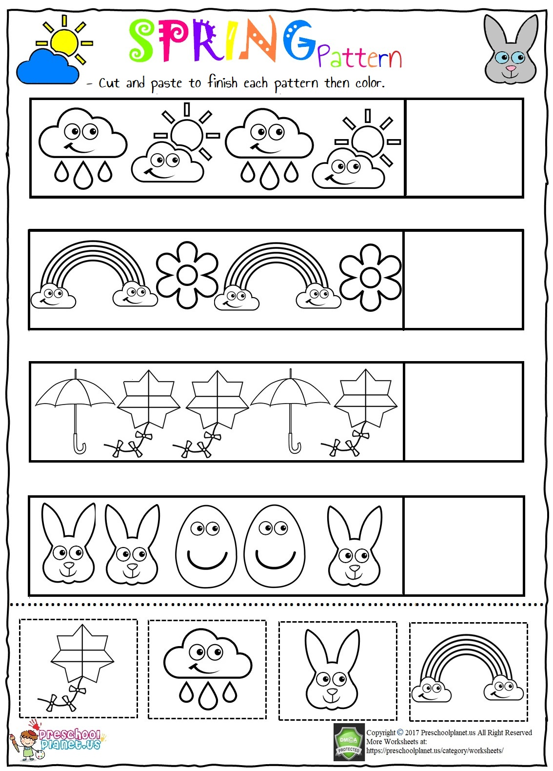Valentine S Day Pattern Worksheet For Kids Preschoolplanet