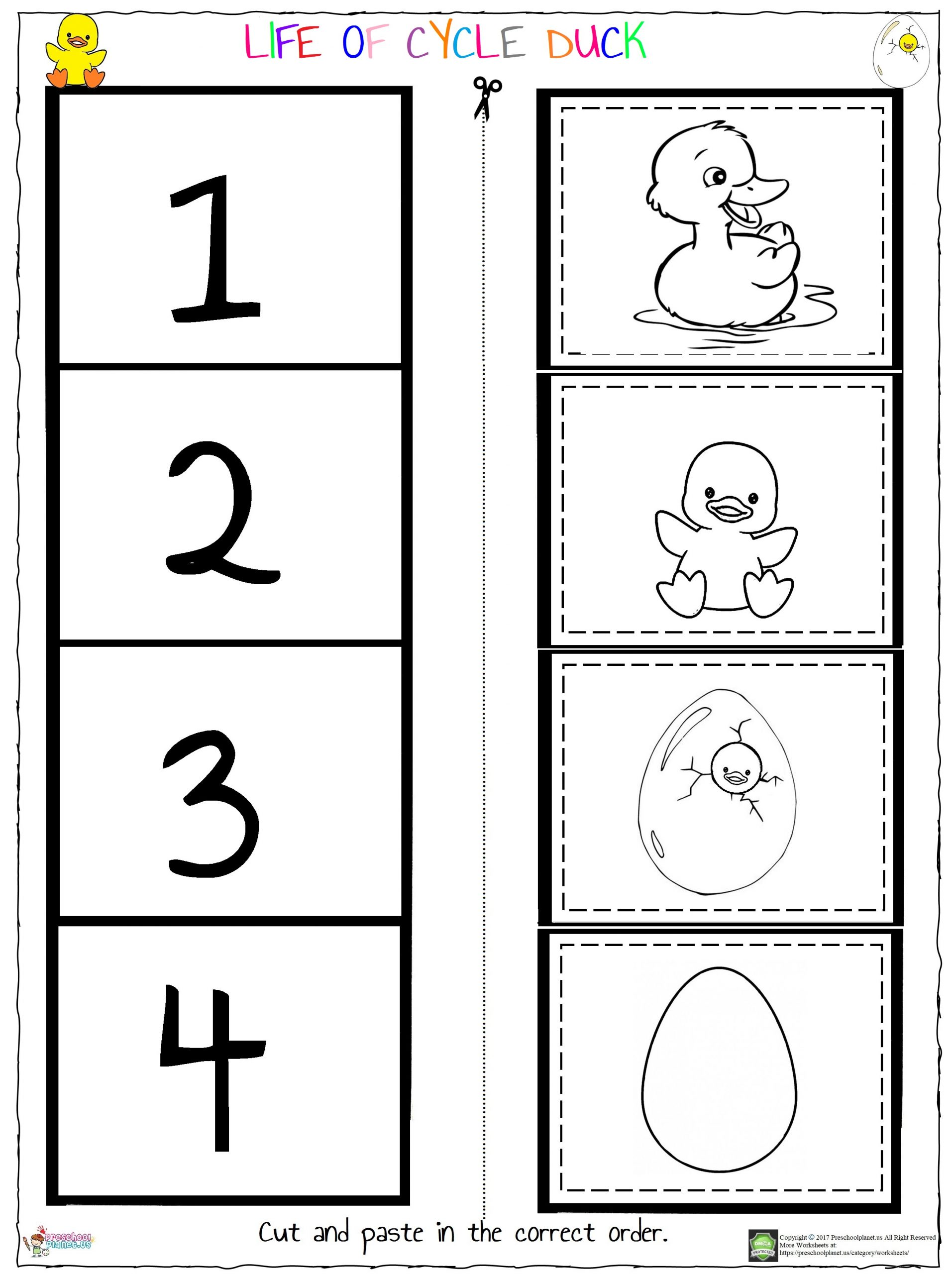 Worksheets Preschoolplanet