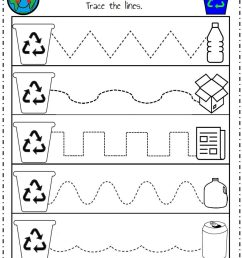 Recycle Worksheet – Preschoolplanet [ 1024 x 823 Pixel ]