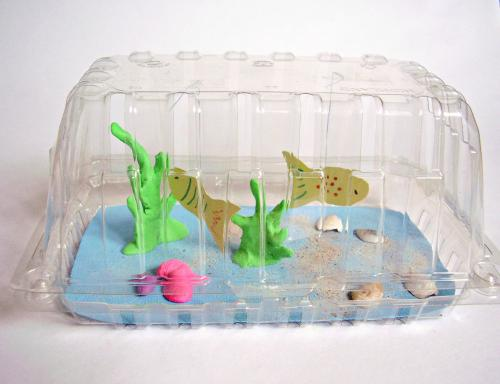Aquarium craft for kids