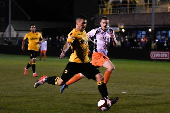 Prescot Cables 2-1 Mossley: In Pictures