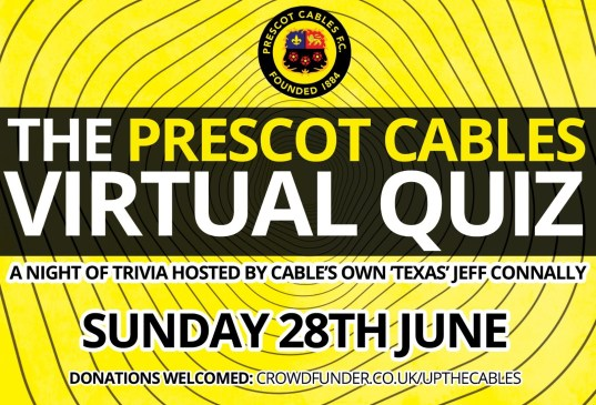 Cables Quiz This Sunday