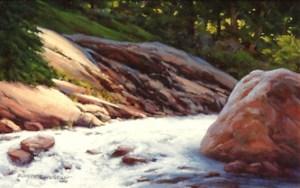 Mountain Stream by Robert Knudson