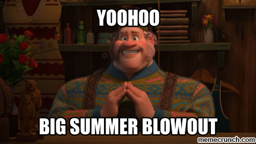 BIG SUMMER BLOWOUT SALE!