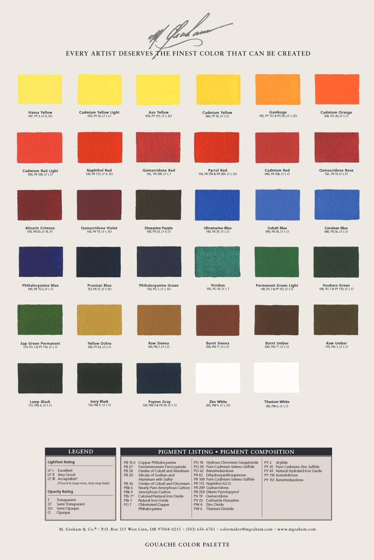 M Graham Watercolor Paints Sale