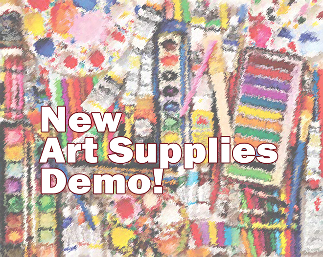 Art Store new product demo