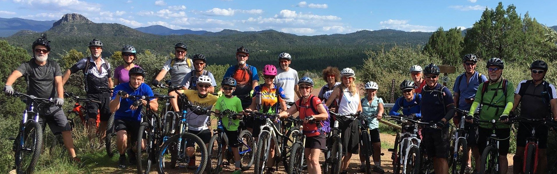 Prescott Mountain Bike Alliance 8-80 ride