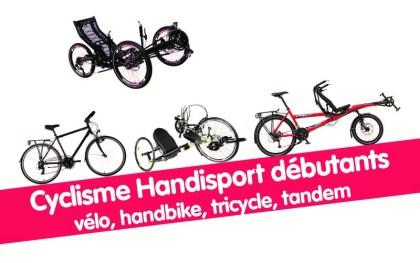 Cyclisme Handisport avec le CDHI @ Départs de l'agglomération grenobloise