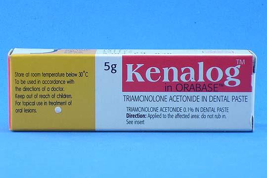 Kenalog Dental Paste (Generic Triamcinolone Topical ...