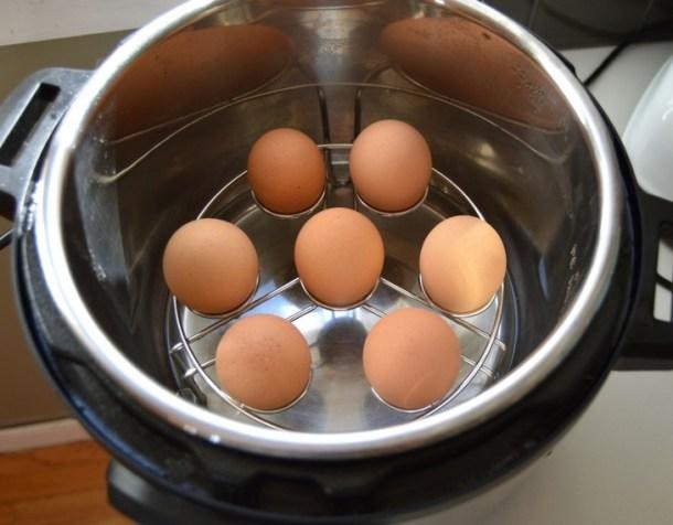 deviled eggs in instant pot