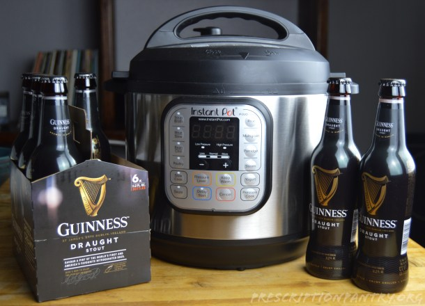 Instant Pot and Guiness Beer