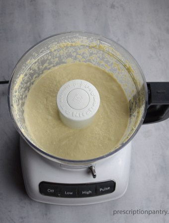 cashew cream sauce food processor