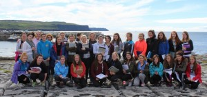 The Leaving Certificate Geography Field Trip  at  Doolin