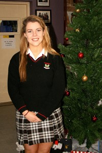 Student of the month for November is Rachel Connolly Transition Year