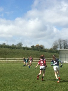 It was a miserable day weather wise but the girls played extremely well and represented the school in fantastic fashion