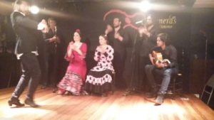 The girls had a great time being mesmerised by an authentic Flamenco show.