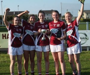 Galway minors on winning the Connacht A title on May 1st in Ballyhaunis.