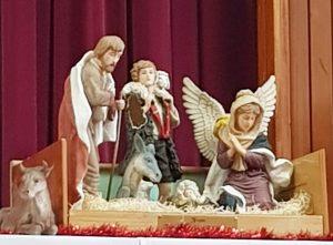 Our annual Christmas Carol Service.