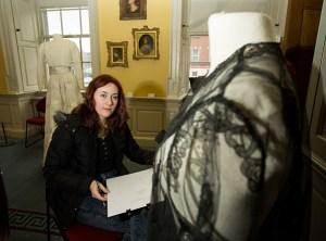 Rebecca who took part in a design workshop in Limerick School of Art & Design, LIT