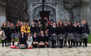 Transition Years get to experience college life, at the TY Arts Taster Day in NUIG