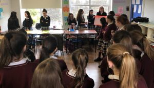 Our TY's were at the forefront of the celebrations as they held a workshop for 1st years focusing on the rights of women all around the world.