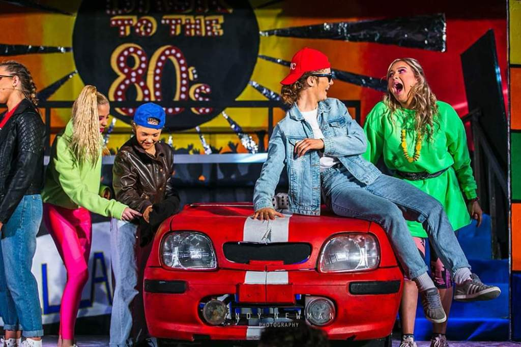 Back to the 80's our school musical (pictures credit: Andy Newman)