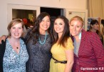 Jaclyn poses with P4 friends and supporters (left to right) Rachael Myer, Jovanna Perez and Kate Crowley.