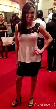 Tanya Martinez, one of the stylish and accomplished judges of the pageant.
