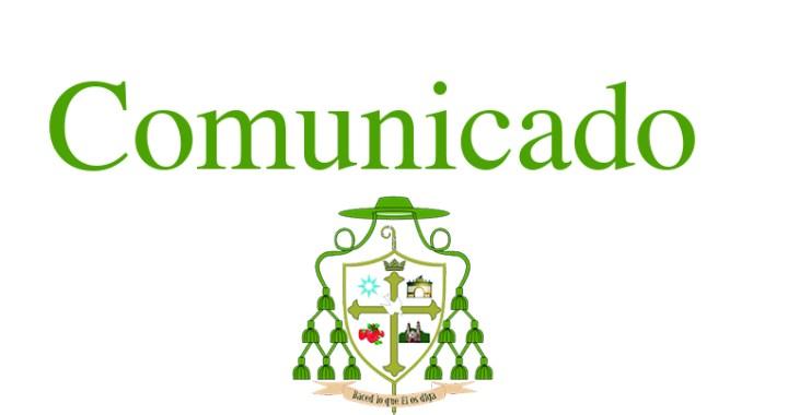 Comunicado de prensa con relación al cambio de fecha del Rosario Viviente 2019