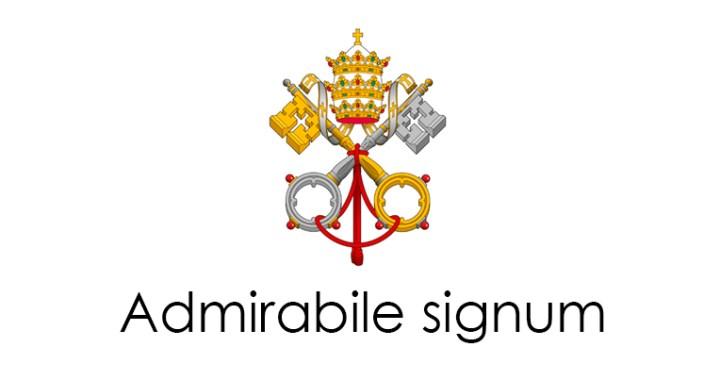 Carta apostólica: Admirabile signum