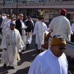Peregrinaron curas a Catedral