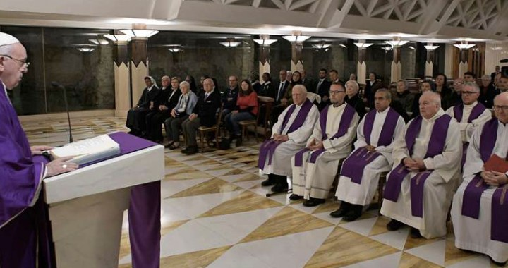 Papa Francisco: El Señor nos consuela siempre